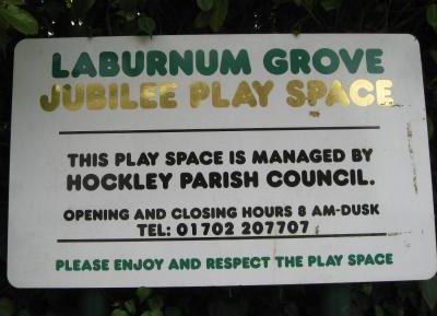 Laburnum Sign