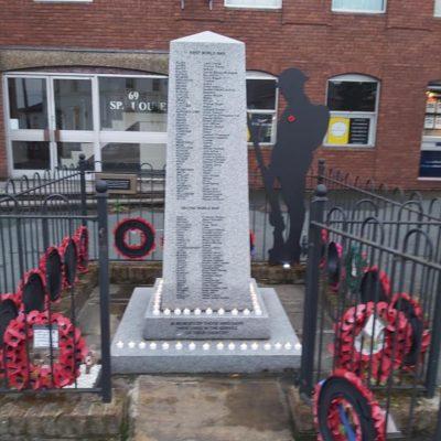 War Memorial Vj Day