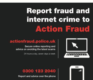 Police Fraud Alert