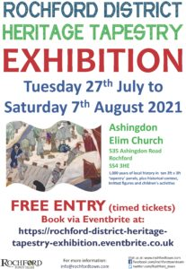 Tapestry Exhibition 2021 Poster