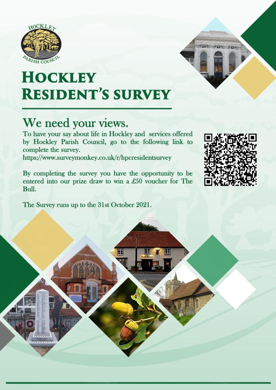 Residents Survey October